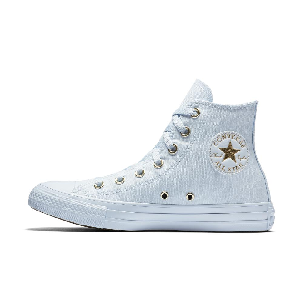 Converse  Blue Chuck Taylor All Star Mono Glam High Top Women's Shoe