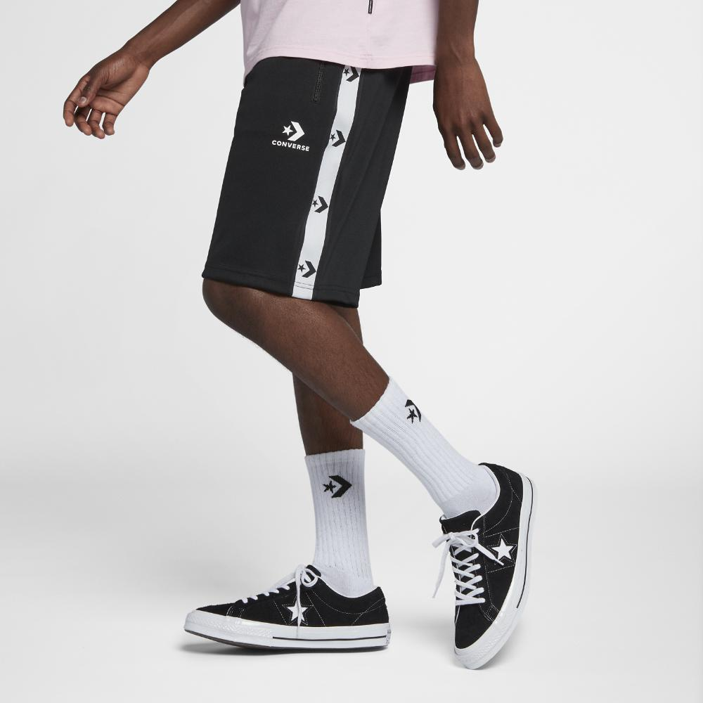 206c172e0370d3 Lyst - Converse Star Chevron Men s Track Shorts in Black for Men