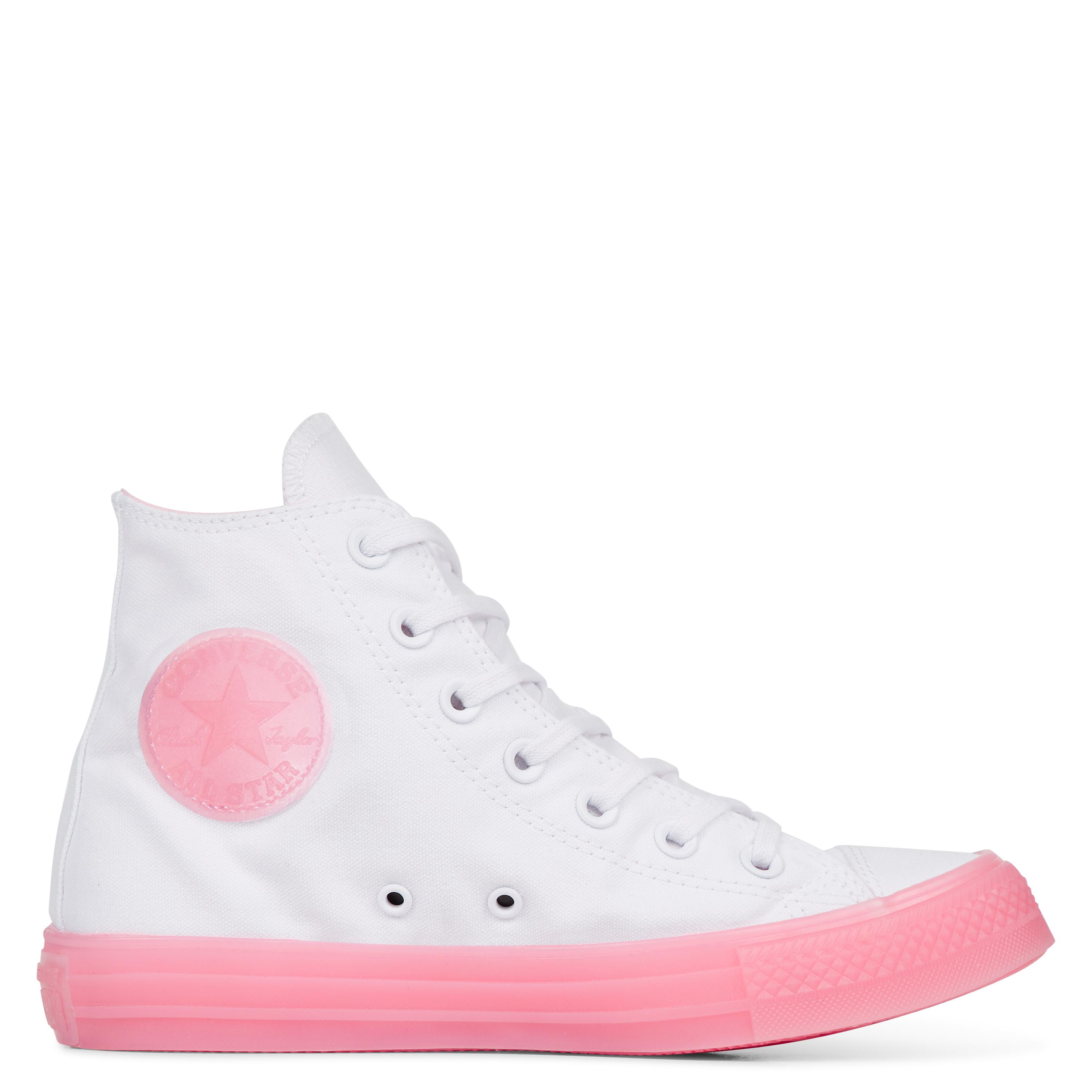 Converse Chuck Taylor All Star Candy Coated in White - Lyst 28499482a