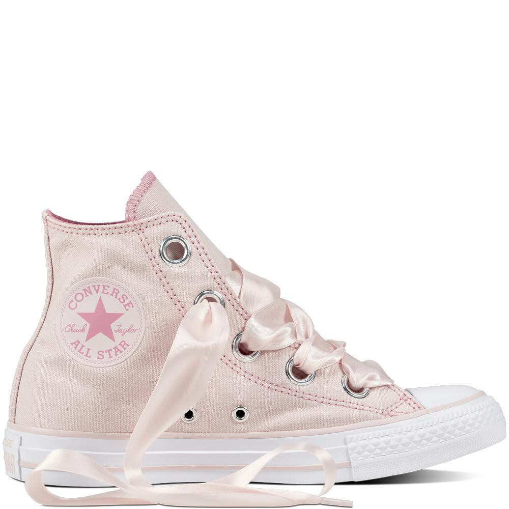 8d2472b39144 Converse Chuck Taylor All Star Big Eyelets Pastel Canvas in Pink - Lyst