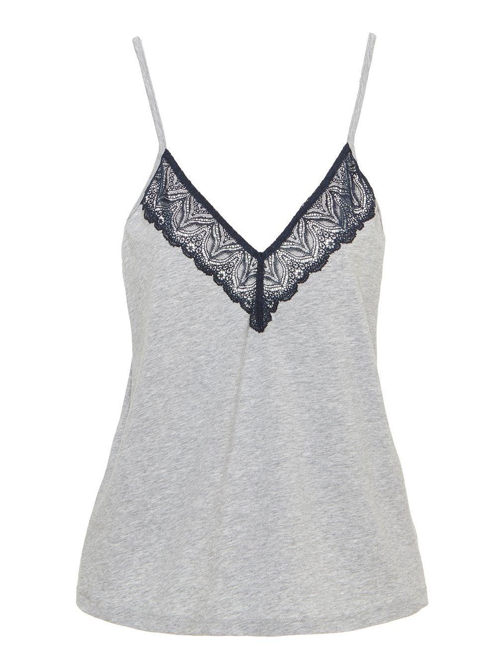 1f340af2feb33 Lyst - Cosabella Ferrara Sleepwear Camisole in Gray