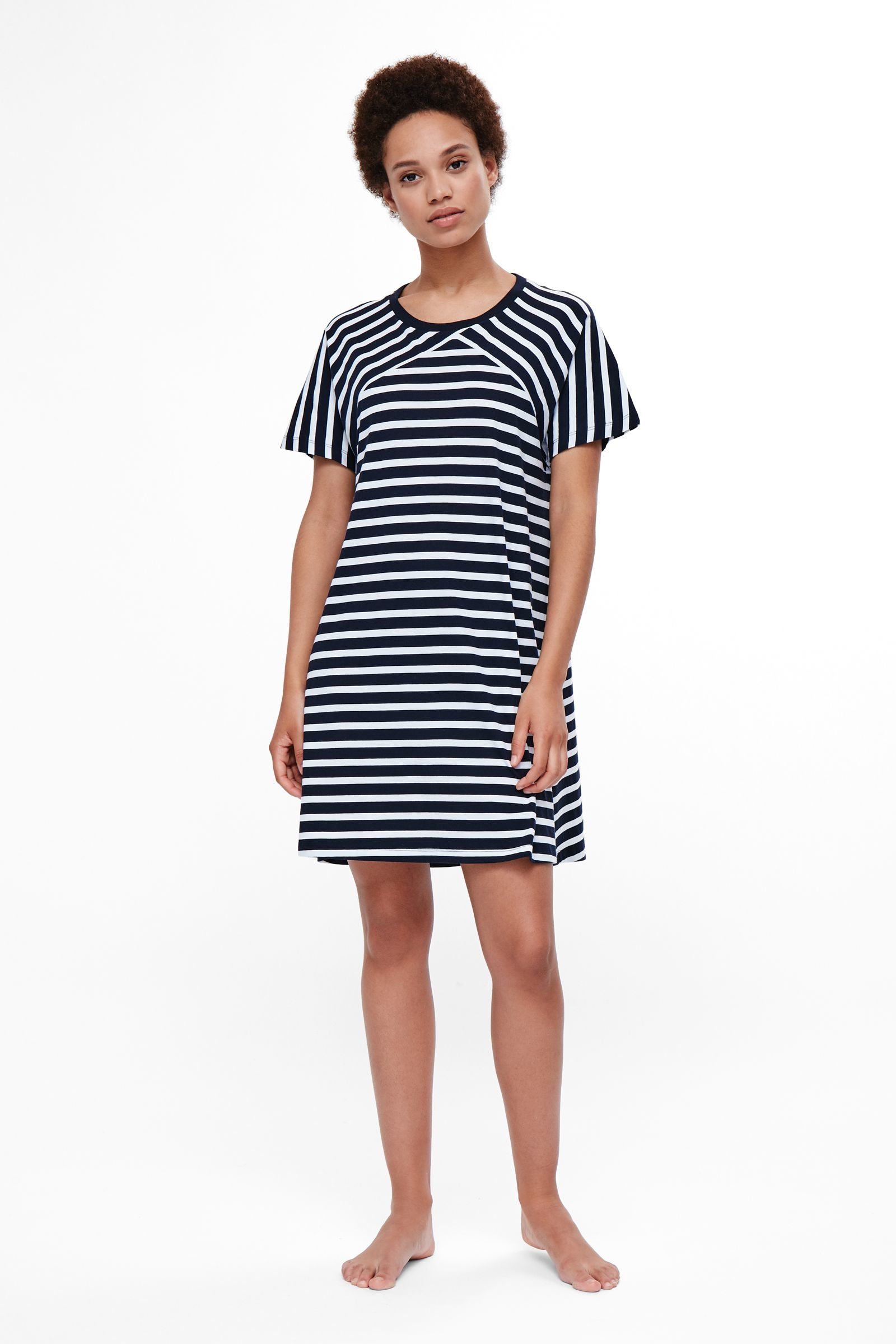 Galerry flared a line dress cos
