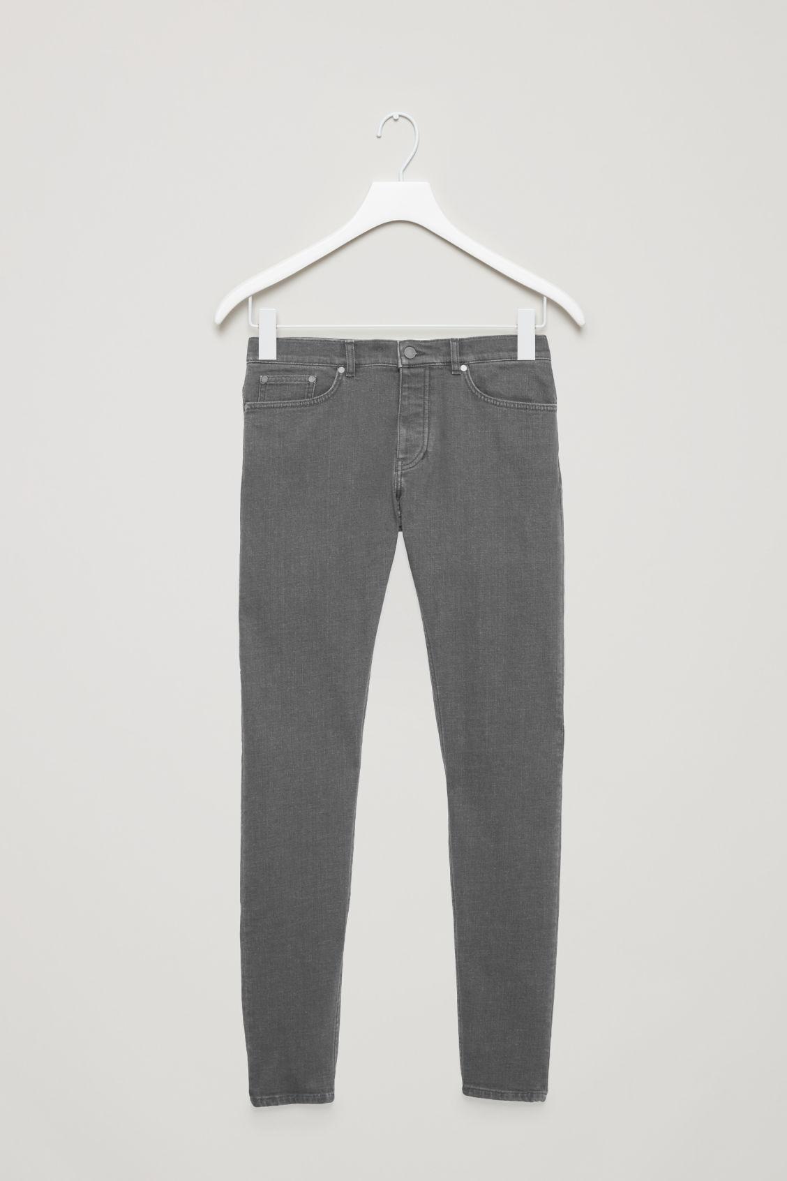 Lyst Cos Slim Tapered Jeans In Gray For Men Hanger Marksspencer Gallery