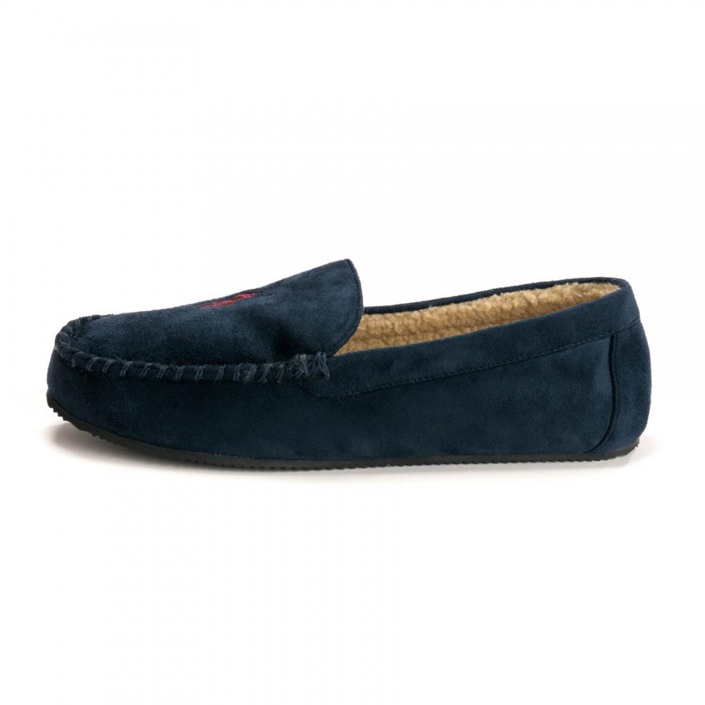 6375643668 Lyst - Ralph Lauren Dezi Iv Mens Slippers in Blue for Men