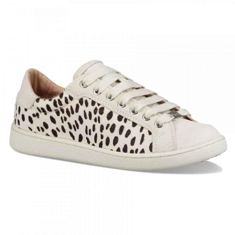 f834c9c682a Ugg Milo Exotic Womens Trainer in White - Lyst