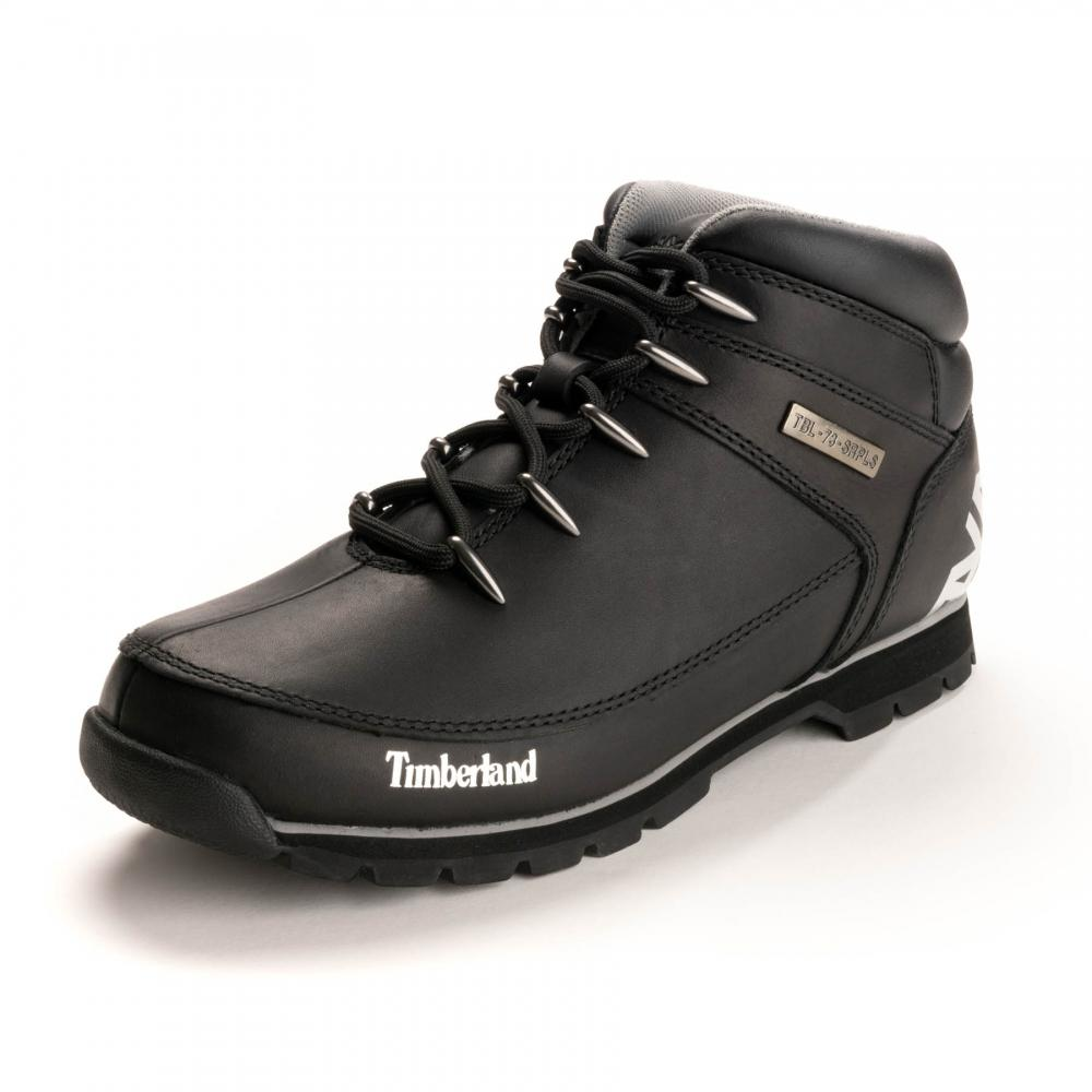 092ab37d412 Timberland Euro Sprint Mens Hiking Shoe in Black for Men - Lyst