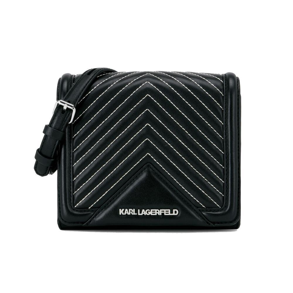 5ee5ef51be83 Karl Lagerfeld K klassik Quilted Small Crossbody Bag in Black - Save ...
