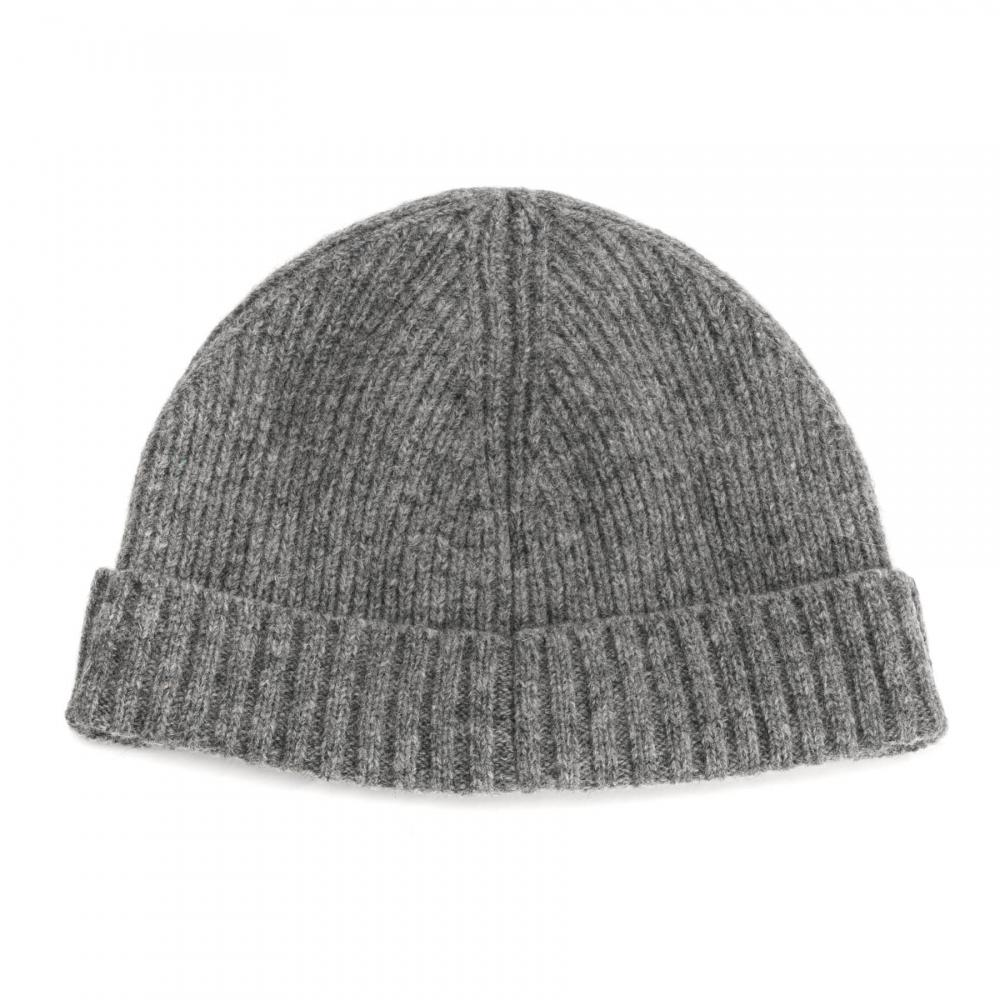 6b62a8924e3 Gant - Gray Wool Lined Mens Beanie for Men - Lyst. View fullscreen