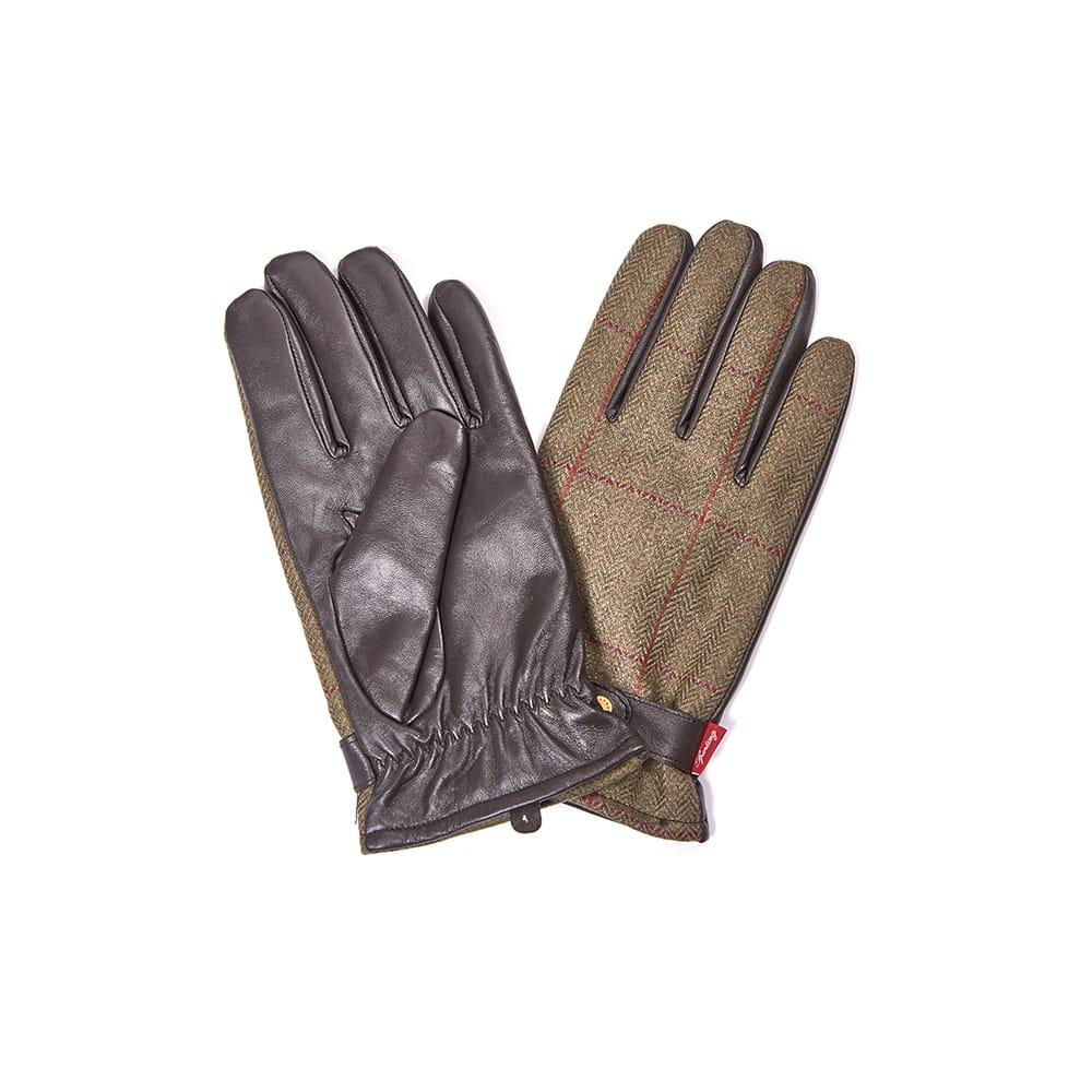 258a46ee1d0 Lyst - Barbour Tweed Mens Glove in Green for Men