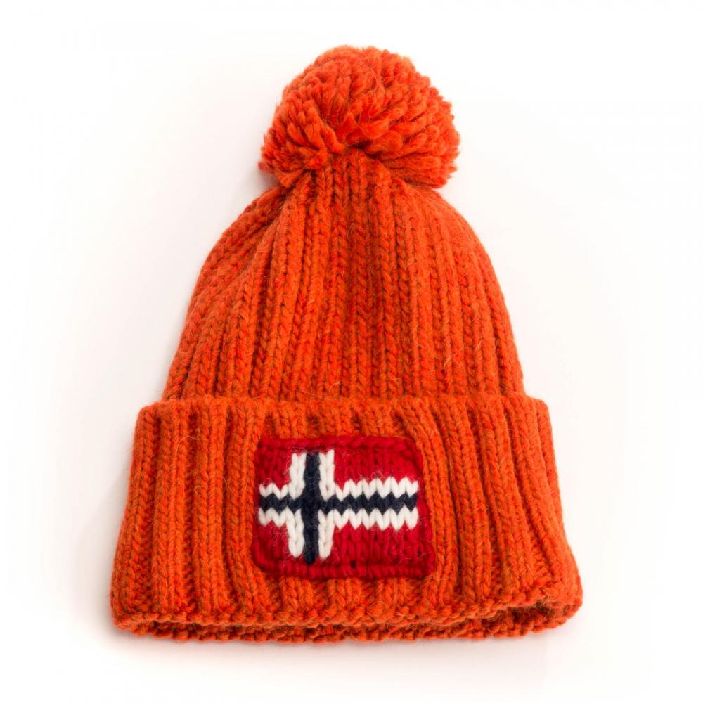 Napapijri Semiury Unisex Hat in Orange - Lyst a90aa7eecfe