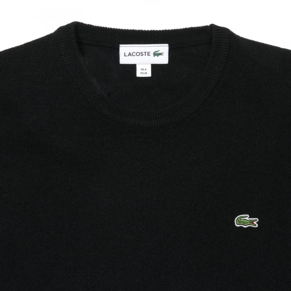 In ah2995 Mens Black 00 Jumper For Crew Neck Lacoste Lyst Men xC0FqBPwUP