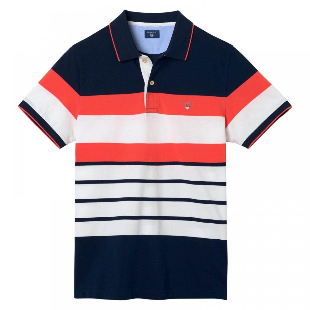 hot sales cfd08 9ec7f gant-Evening-Blue-Multistripe-Pique-Mens-Polo-Shirt-Ss.jpeg