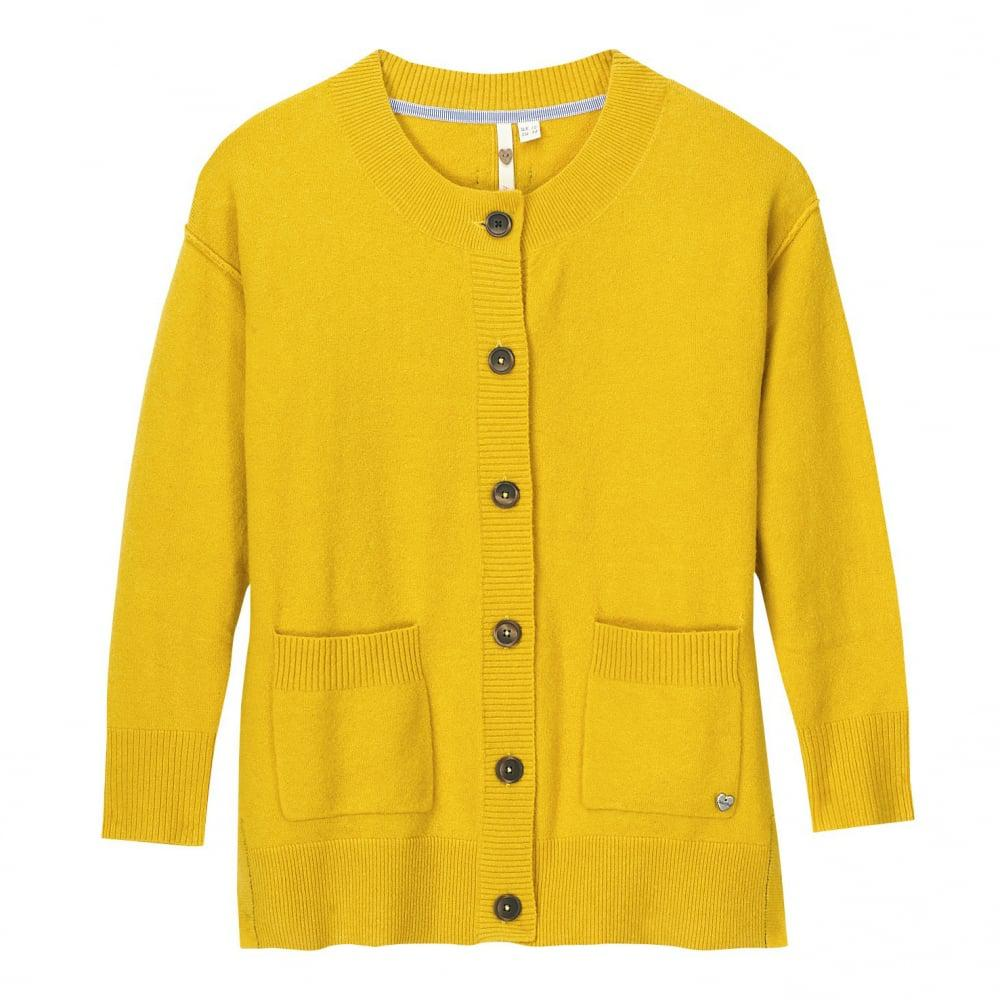 White stuff Camomile Womens Cardigan in Yellow   Lyst