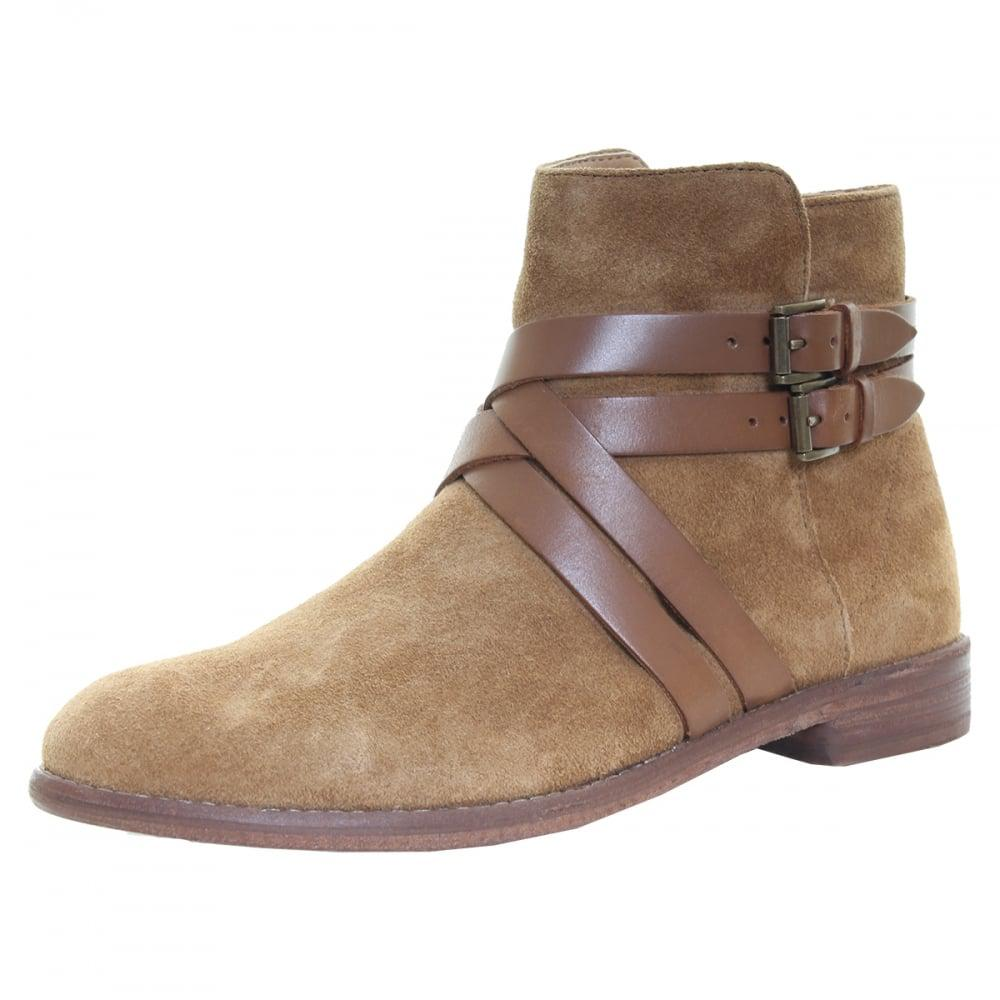 3c4c189a9 Lyst - H by Hudson Atlas Suede Womens Boot in Brown