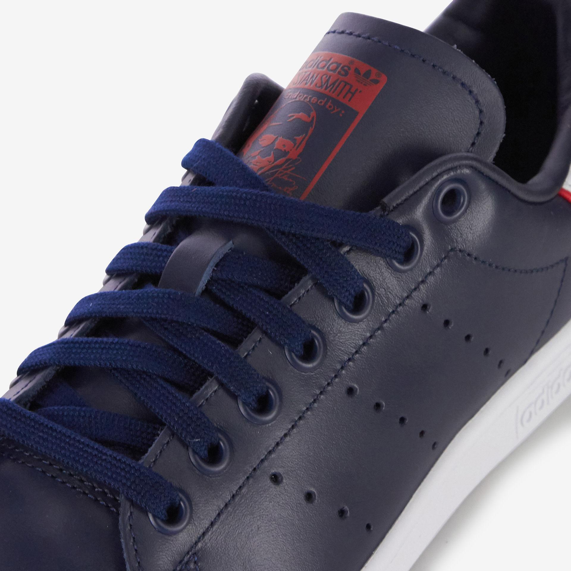low priced 5dd69 aff6b Lyst - Stan smith signature adidas Originals en coloris Bleu