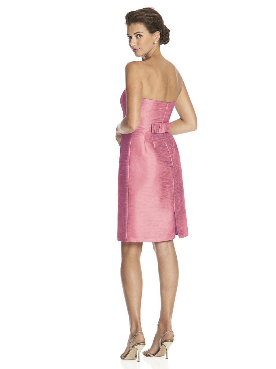 Hermosa Vestidos De Dama De Alfred Sung Festooning - Colección de ...