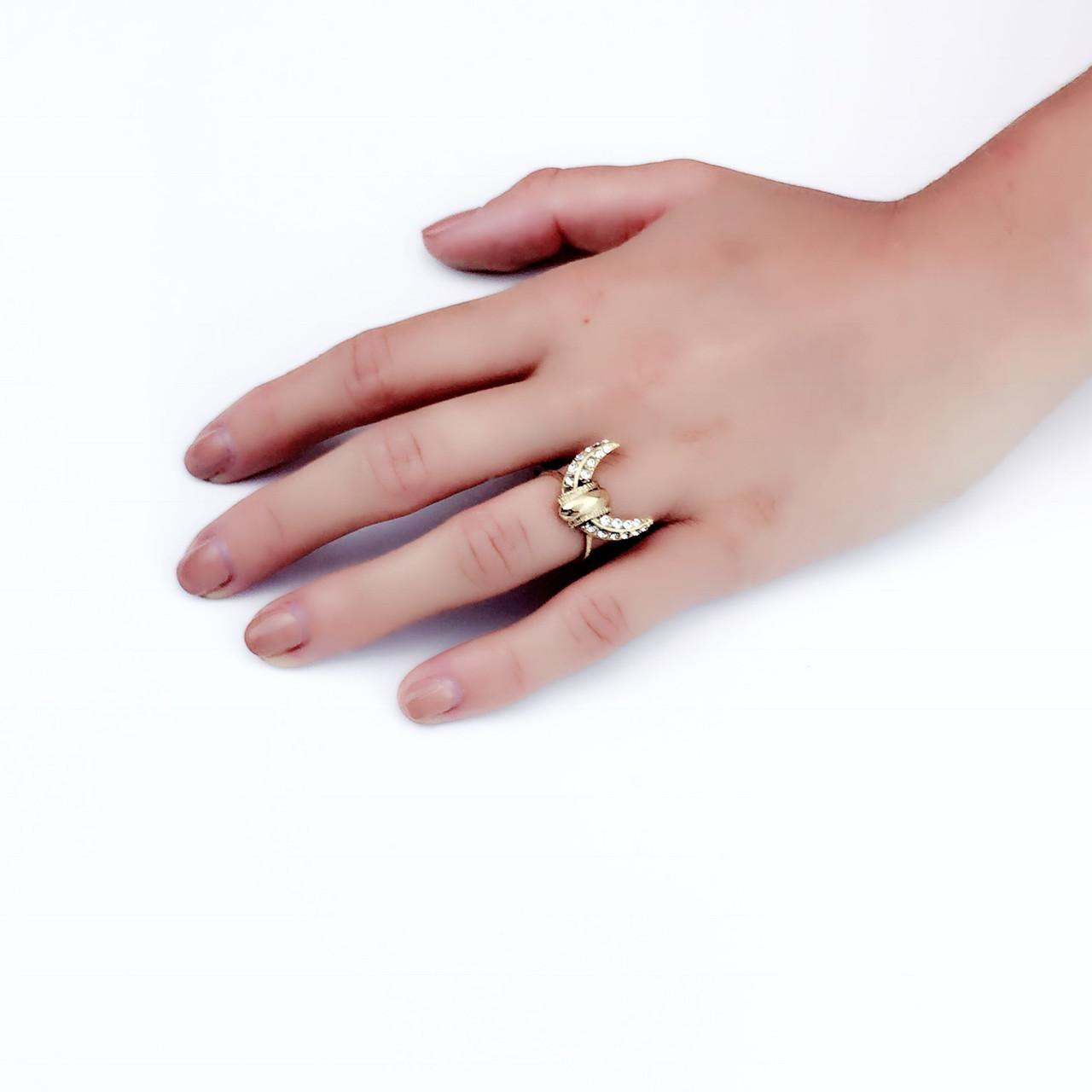 Lyst - Elizabeth Cole Haven Ring in Black