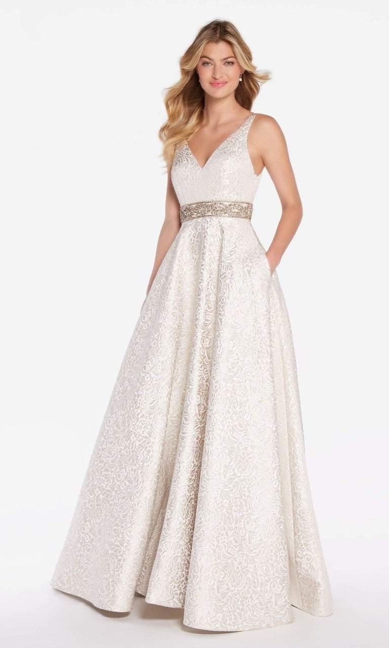 bc859b6a1f5 Lyst - Alyce Paris 60121 Sleeveless Open Back A-line Gown