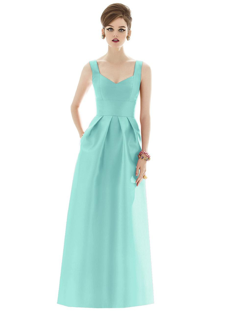 Colorful Jersey Knit Bridesmaid Dresses Image - All Wedding Dresses ...
