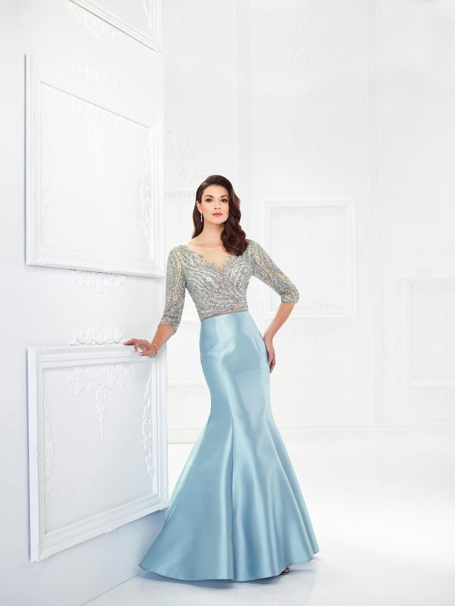 947f213b84 Lyst - Mon Cheri Montage By - 118988w Beaded Mikado Mermaid Gown