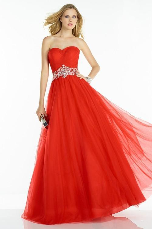 b635dd989e3 Lyst - Alyce Paris 6605 Prom Dress In Red in Red