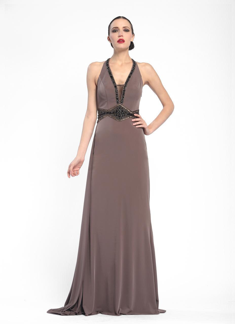 9befb7bb Sue Wong. Women's Embellished Halter Neck A-line Dress N5347. $690 $345  From Couture Candy