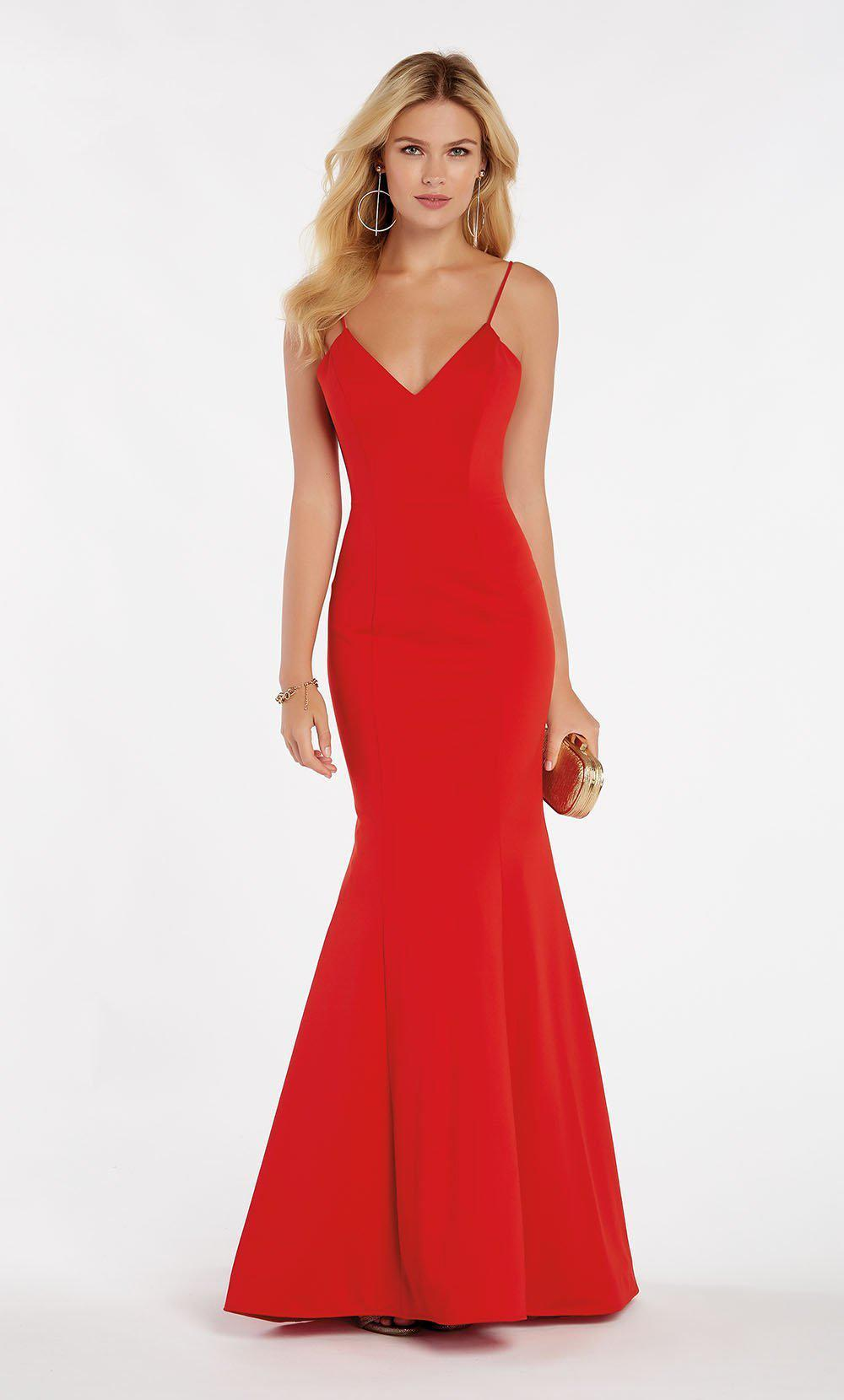 a5d5a6b41f30 Lyst - Alyce Paris 60293 Classy Sleeveless Jersey Mermaid Gown in Red