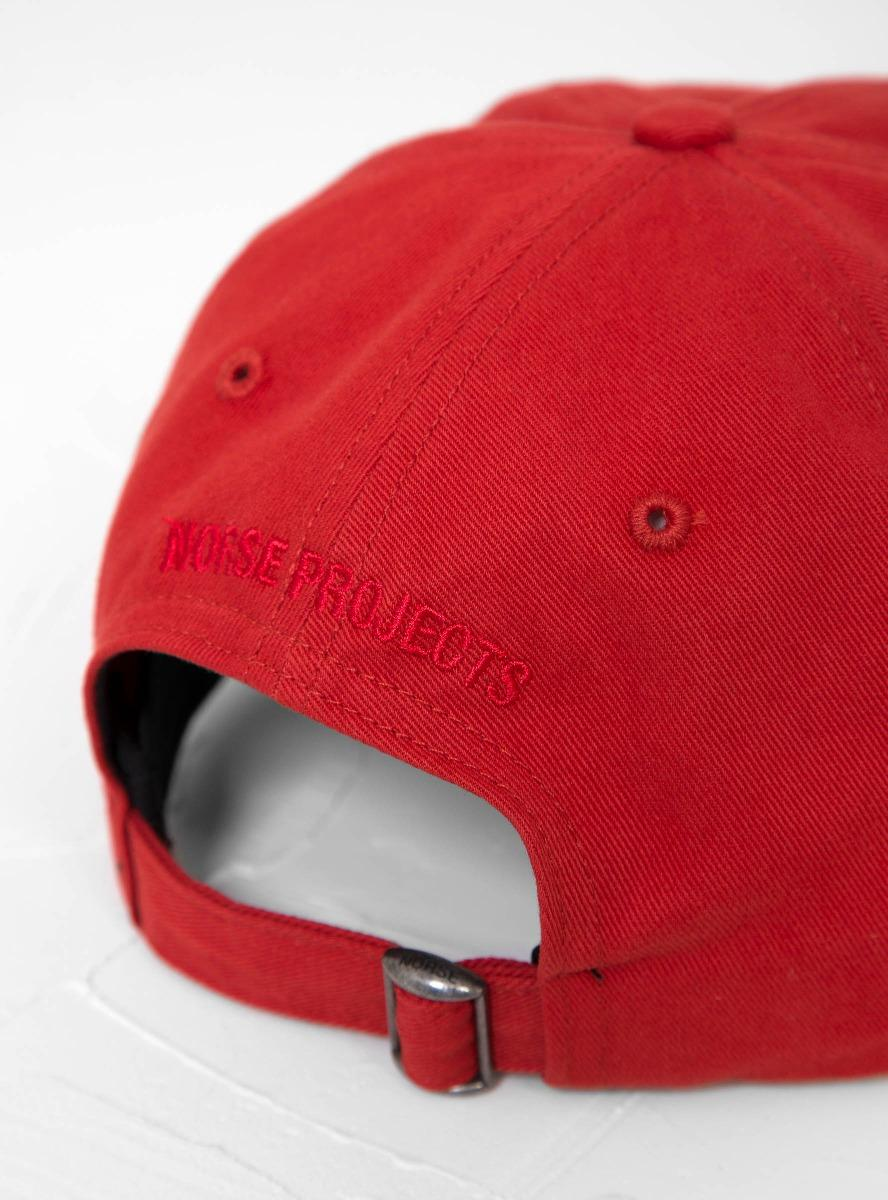 a54c6629e3f Norse Projects - Red Twill Sports Cap for Men - Lyst. View fullscreen