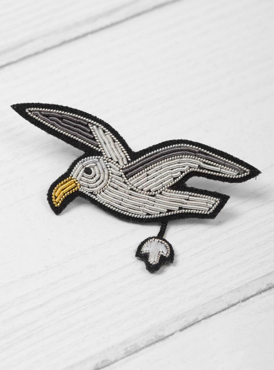 ... Multicolor Flying Seagull Brooch   Lyst. View Fullscreen