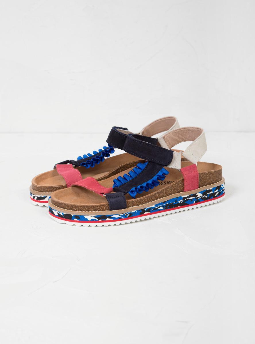 3e7e1e35667511 Lyst - Henrik Vibskov Scandal Sandals in Blue