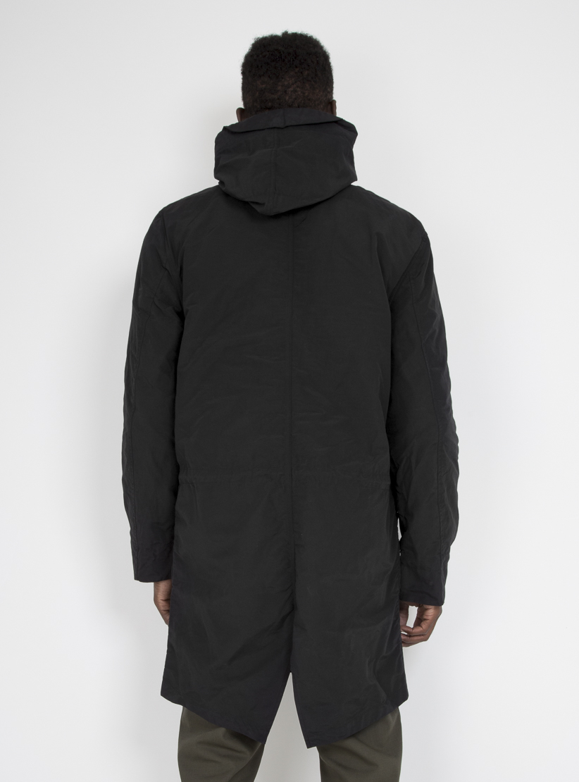 Saturdays nyc Nathan Fishtail Parka Black in Black for Men | Lyst