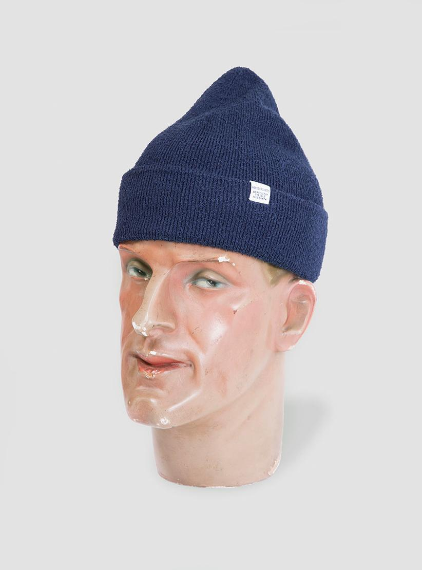 Norse Projects Norse Texture Beanie in Blue for Men - Lyst 7f16e7daecb