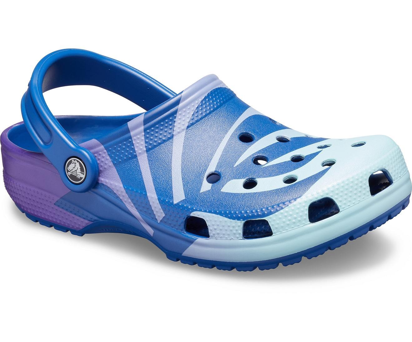 ffcd8d1bc Lyst - Crocs™ Classic Seasonal Graphic Clog in Blue