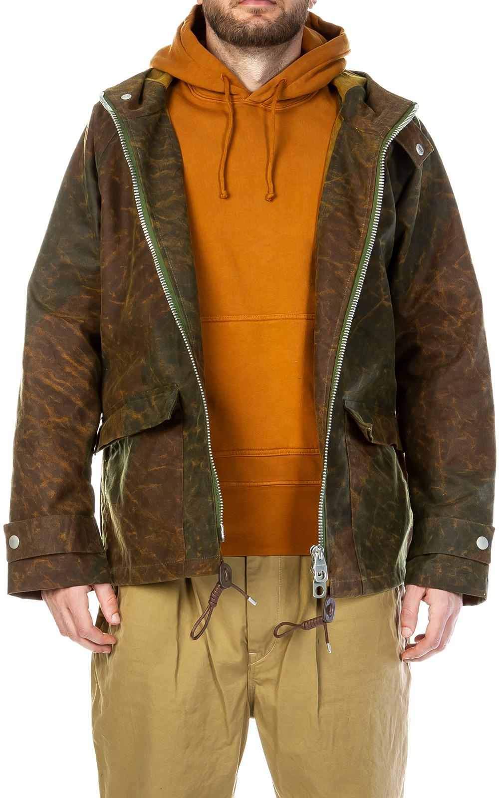 1e6eb727f43a Lyst - Nigel Cabourn Nam Jacket Canvas Camo in Green for Men