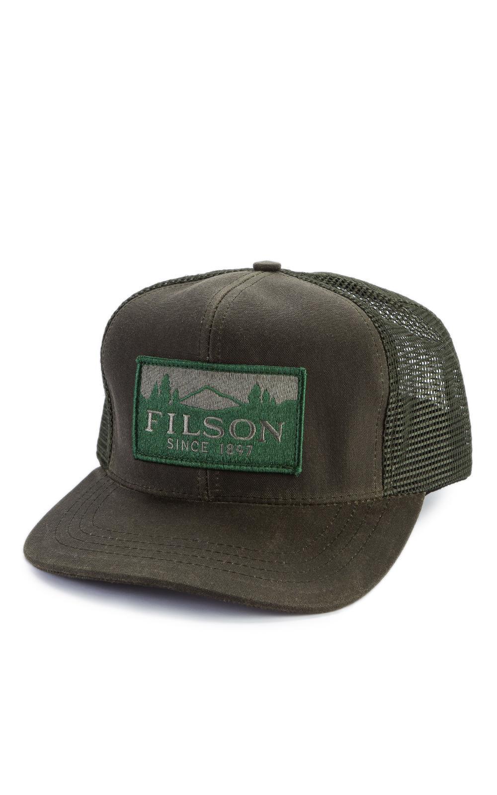 47b1d7f2452 Filson - Blue Logger Mesh Cap Otter Green for Men - Lyst. View fullscreen