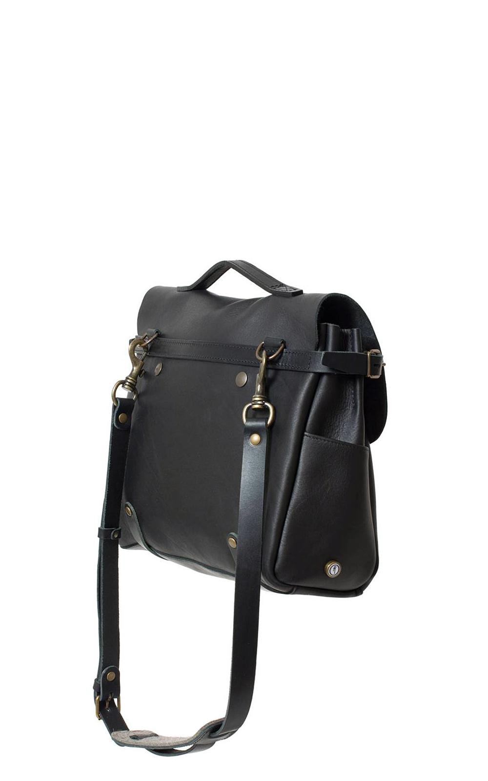 Lyst - Bleu De Chauffe Postman Bag Eclair M Noir in Black for Men 09153c6bd5962