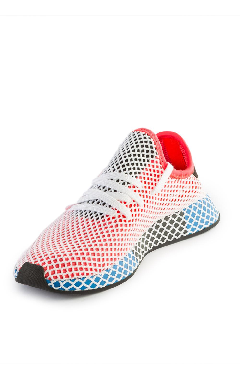 Adidas Originals deerupt Runner Solar ROJO / Bluebird en rojo para hombres Lyst