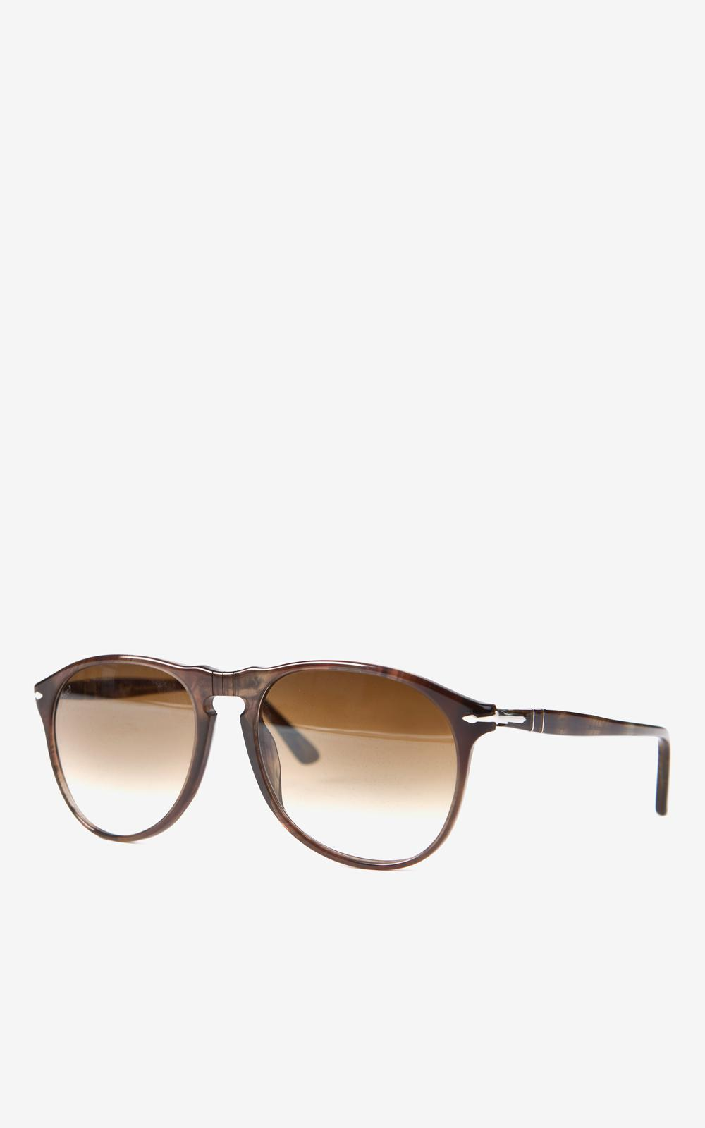 f4322181ce Lyst - Persol Po9649s 972 51 Smoky Havana Brown Faded 52mm in Brown