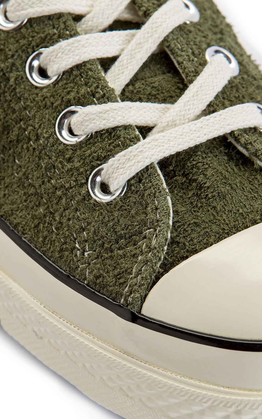Converse Green Chuck Taylor All Star 70 Ox Suede Olive for men