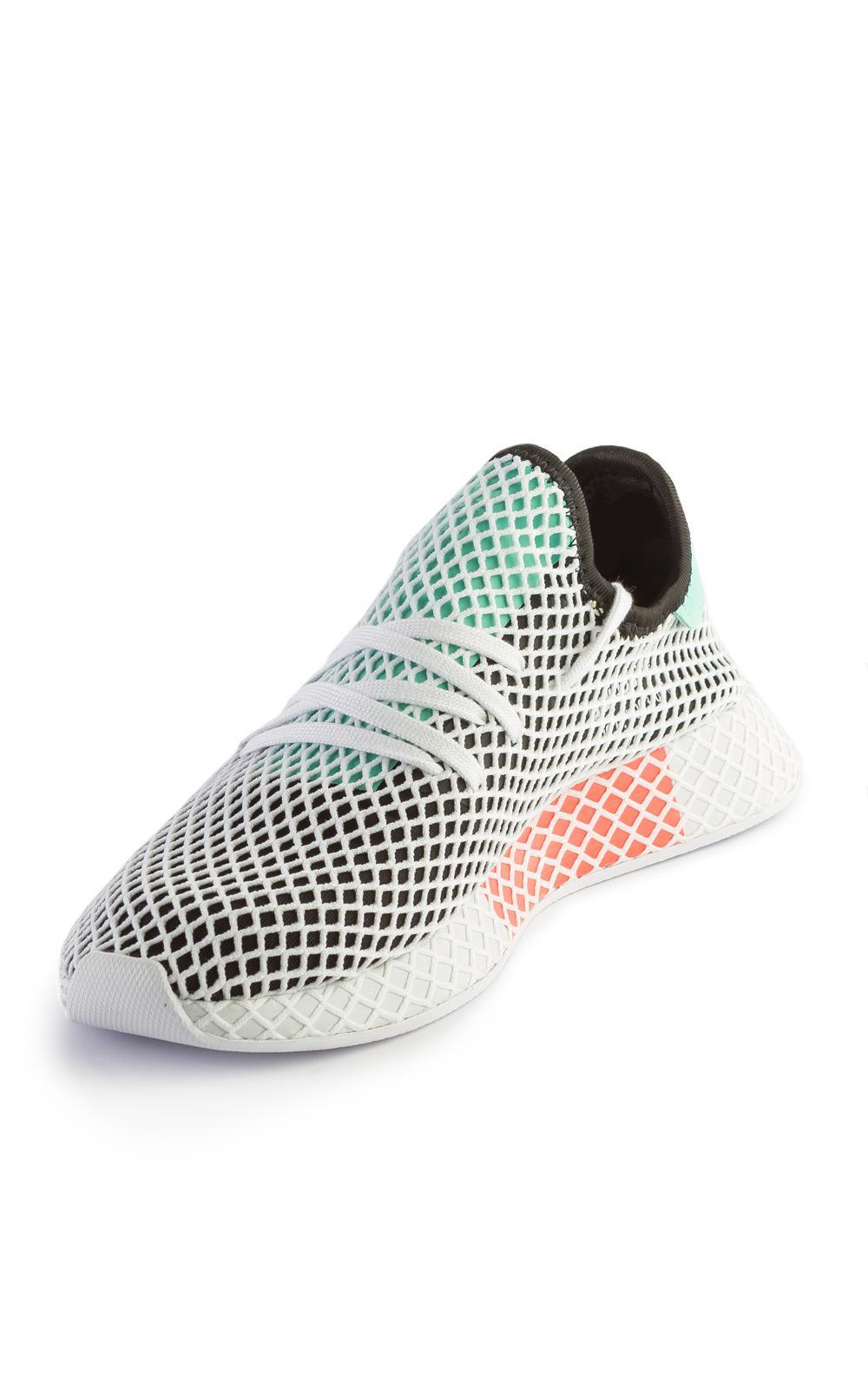 2d9aebe95 adidas Originals Deerupt Runner Core Black easy Green in Black for ...