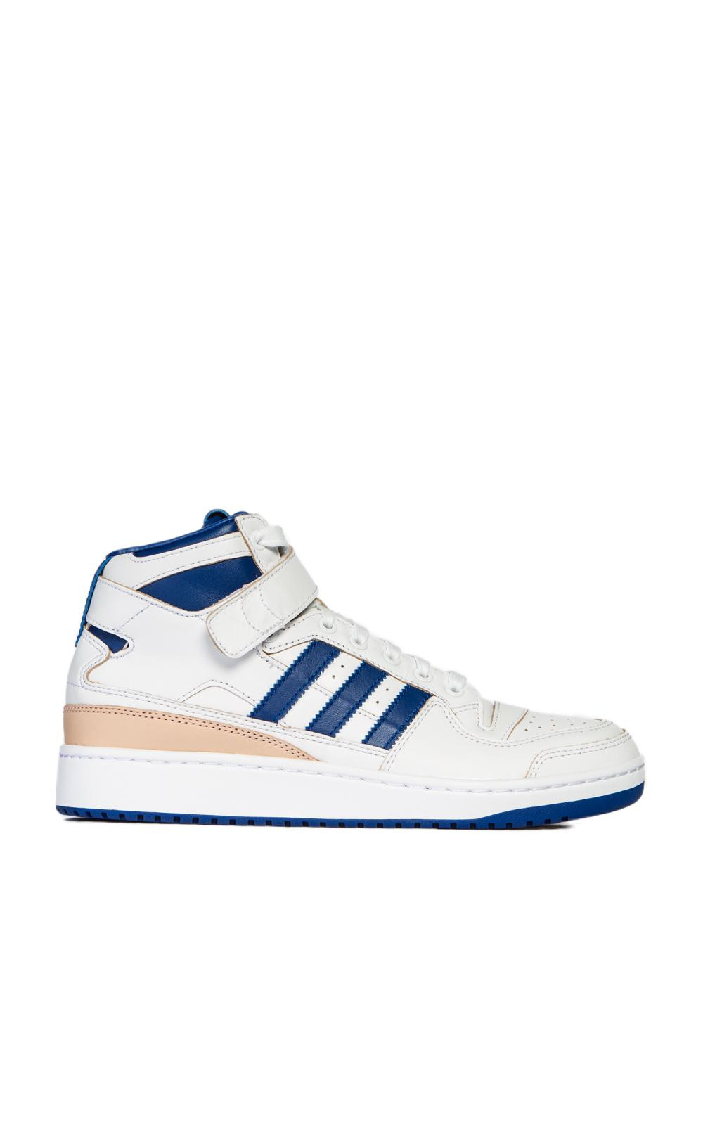 official photos 02fd3 b692c ... australia adidas originals. mens forum mid white blue 52d9e e0686