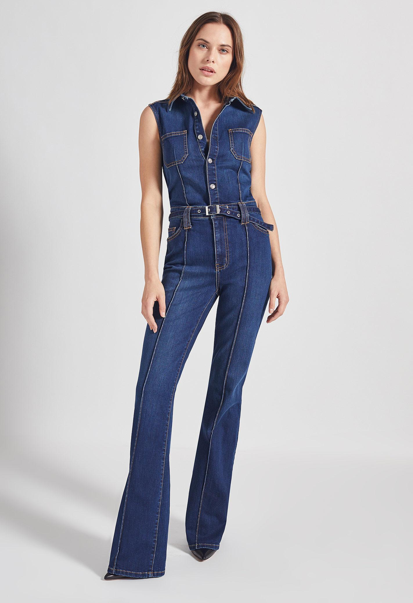6dd88f5625 Lyst - Current Elliott The Zenith Jumpsuit in Blue - Save 10%