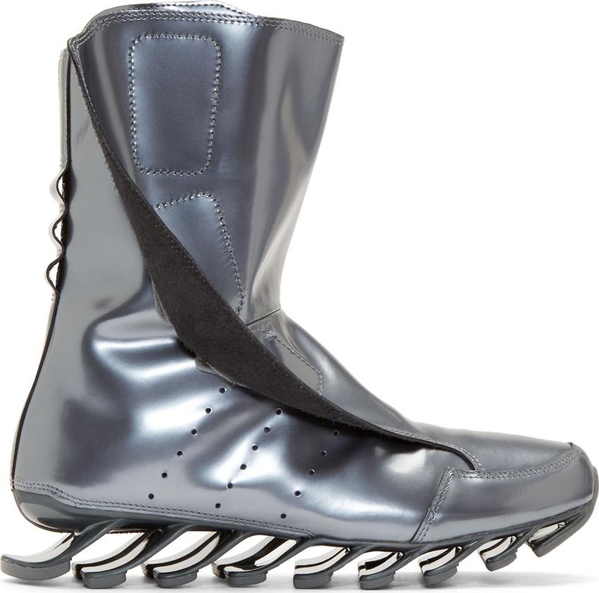 Gunmetal Grey High Heel Shoes