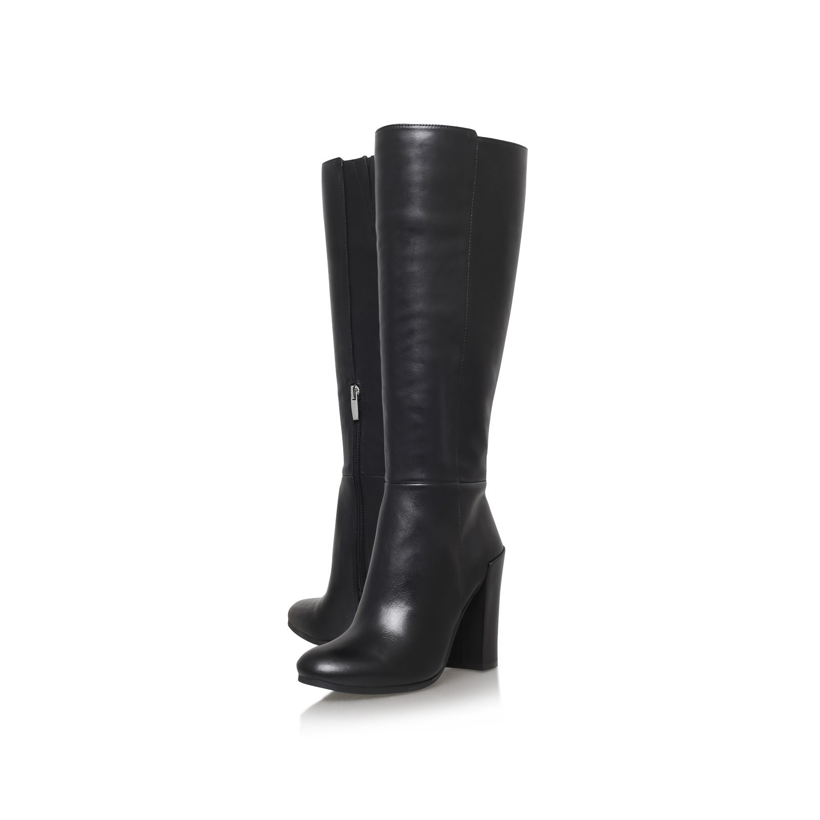 Vince Camuto Lonny High Heel Knee Boots In Black Lyst