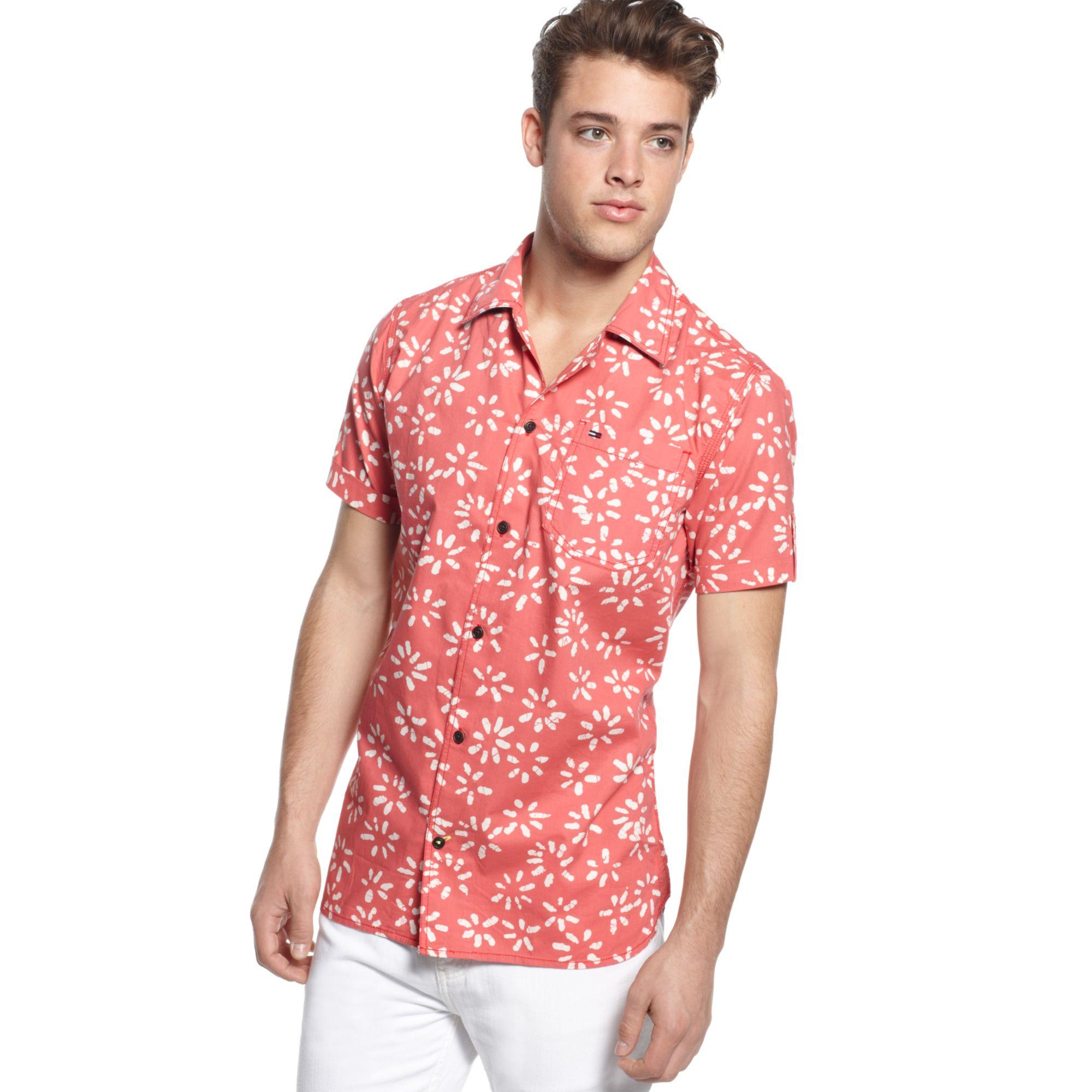 Tommy Hilfiger Seville Printed Shirt Hilfiger Denim