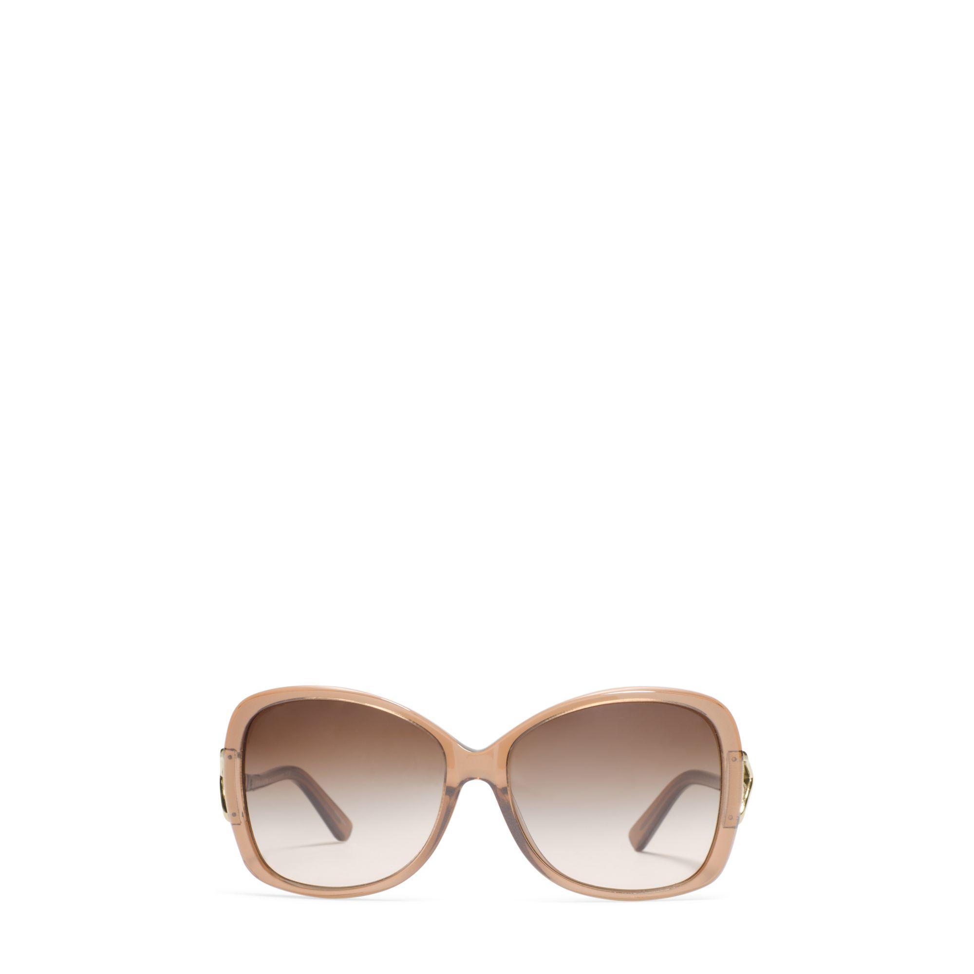 Michael Kors Montrose Sunglasses  michael kors bora bora sunglasses in brown lyst