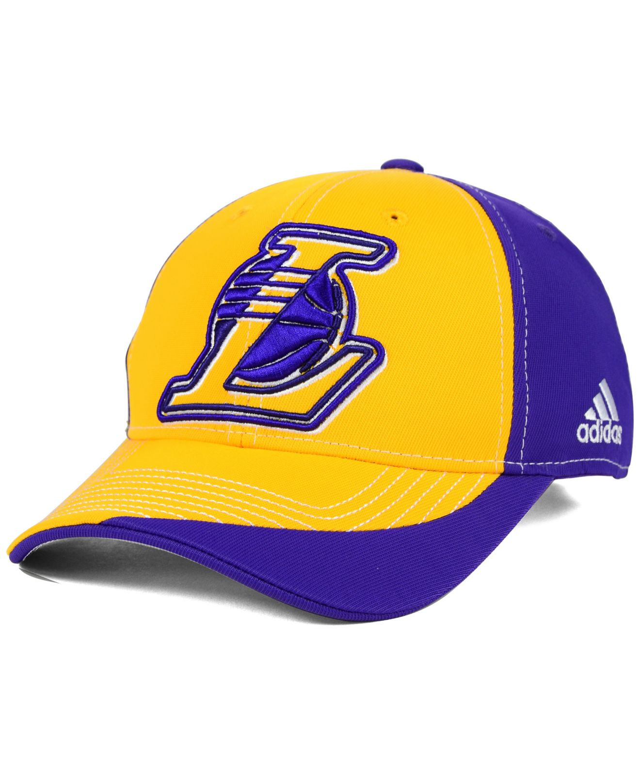 Lyst - Adidas Originals Los Angeles Lakers Dribble Series Adjustable ... a3ded897362f