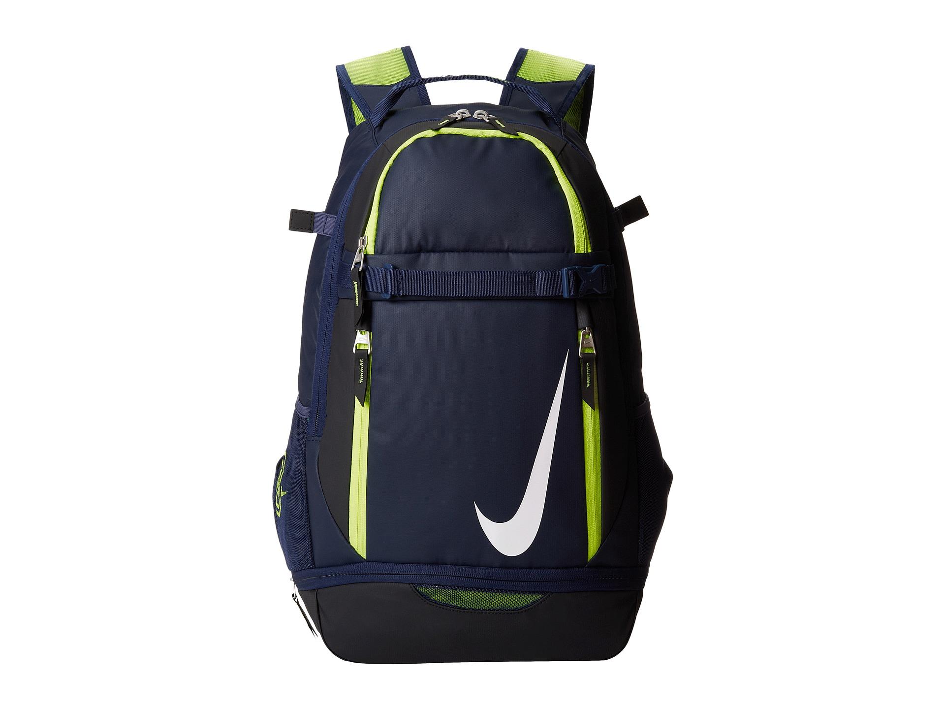 nike vapor elite backpack in green lyst