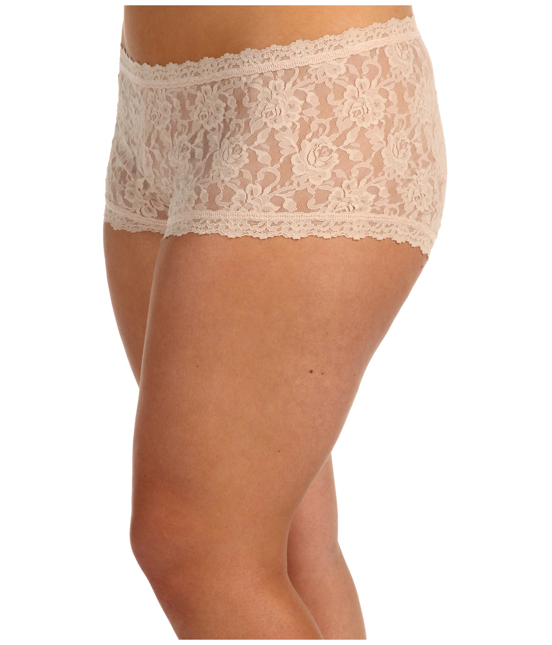 94bc7e319 Lyst - Hanky Panky Plus Size Signature Lace Boyshort in Natural