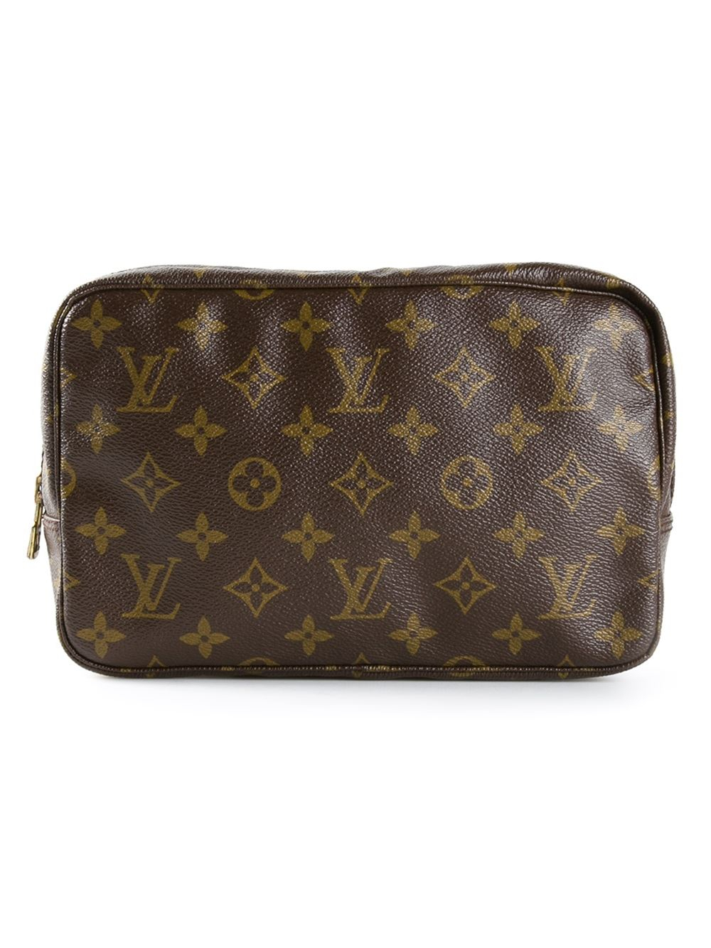 Louis vuitton Monogram Trousse 23 Cosmetic Bag in Brown : Lyst